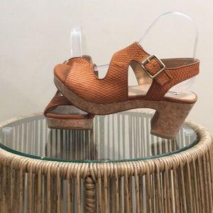 Miz Mooz platform/wedge sandal